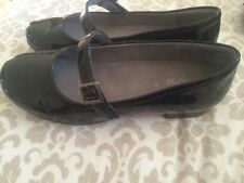 Patent Leather Wear to Work Solid Flats for Women
