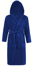 100% Cotton Terry Towelling Hooded or No Hood Shawl Collar Bathrobe