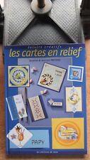 LOISIRS CREATIFS - PAPIER / LES CARTES EN RELIEF - PRETERRE - EDITIONS DE SAXE