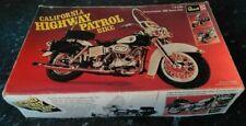 Revell California Highway Patrol Bike Electra Glide Harley Davidson  1:8 vintage
