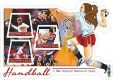 Stamps Olympic Games Tokyo 2020  Hanball