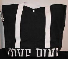 Victoria's Secret PINK Snap Tote / Gym Bag / Beach Bag *N w/o T* *Black*