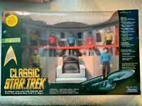 "PAYMATES - CLASSIC STAR TREK COLLECTOR ""7"" ACTION FIGURE SET- ENTERPRISE BRIDGE"
