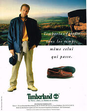 PUBLICITE ADVERTISING 114  1997  TIMBERLAND  pret à porter chaussures homme