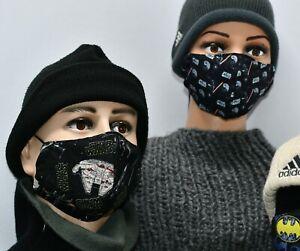Masque de protection en tissu lavable 100%coton - Fait main à personnaliser ....