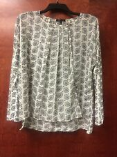 Womens MNG Suit Black & White Wrap Front Size X-small Nordstrom