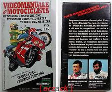 VIDEOMANUALE del MOTOCICLISTA Franco Picco Fabrizio Pirovano IDEAVIDEO vhs