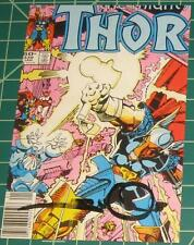 SIGNED Vintage Art of Marvel Comics Post Card ~ Mighty Thor #339 Walt Simonson