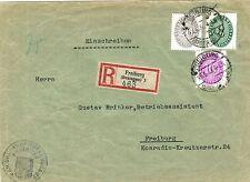Ungeprüfte Dienstmarken aus dem deutschen Reich mit Mischfrankatur
