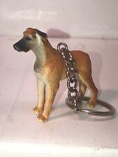 Safari Ltd Dog Key Chain Great Dane