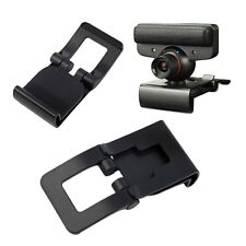 New Black TV Clip for  PS3 Move Eye Camera Mount Holder Stand Adjustable CS