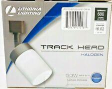 Lithonia Lighting Cylinder Glass 1-Light Black Bulb included Track Lighting Head