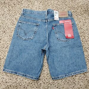 Levi's 505 Regular Denim Jean Shorts Zip Fly Medium Mens Size 34