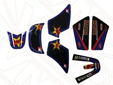 Yamaha PW50 PY50 Body Kit Plastic Sticker Graphic Set Kit Rockstar Energy Blue
