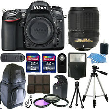 Nikon D7100 Digital SLR Camera Body + 18-140mm VR Lens + 24gb Bundle