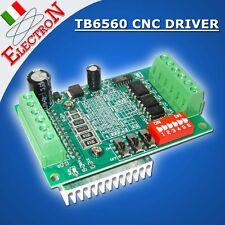 SCHEDA DRIVER 1 ASSE TB6560 motori passo passo stepper CNC Arduino pic ROUTER