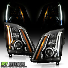 Cts V Upgrade Fit Halogen Model 08 14 Cadillac Cts Switchback Led Headlights Fits 2010 Cadillac Cts