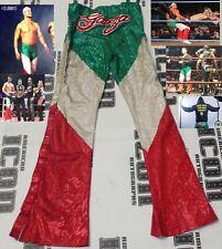 Angel Garza Jr Signed Ring Worn Used Pants BAS COA Impact Wrestling PPV WWE NXT