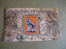 SOUTH AFRICA 2010 FIFA WORLD CUP SOUTH AFRICA SOUVENIR SHEET