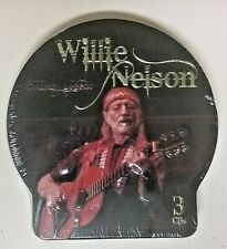 Willie Nelson (2008 Sealed Import 3CD Embossed Tin-Case TC 53152) Country Legend