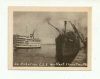 LE RICHELIEU C.L.S QUITTANT CHICOUTIMI, QUEBEC, CANADA VINTAGE SNAP SHOT PHOTO