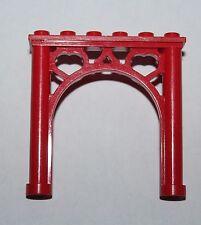 Lego Disney Mickey Mouse Red Brick Arch 2x6x5 Ornamented ref 2145/set 4178 4165