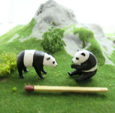 (Spur 1) Panda Bären Pärchen Tiere Figuren (1:32)