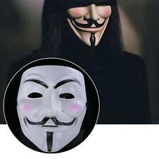 V for Vendetta Mask Anonymous Guy Fawkes Fancy Dress fantasy Costume cosplay UK