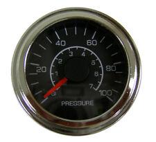 """Pressure Transducer Gauge 100 psi, 2-1/16""""/52mm, analog voltage input, LED light"""