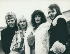 ABBA 1974 VINTAGE PHOTO ORIGINAL VOGUE RECORDS