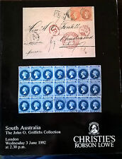 Auction Catalogue John O Griffiths SOUTH AUSTRALIA Robson Lowe Christies