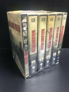 V34  THE WALKING DEAD serie DVD 6 stagioni complete da prima a sesta