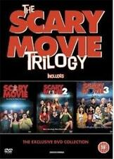 SCARY MOVIE TRILOGY 1,2,3 (One,Two,Three) Horror Comedy Spoof DVD Set *EXC*