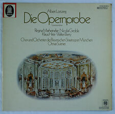 Lortzing: Die Opernprobe Opera/Musical Comedy-Suitner Germany Electrola QUAD NM