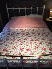 Cath Kidson IKEA ROSALI Reversible Super King Quilted Bedspread / Throw