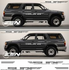 Toyota Hilux Surf N120 N130 replacement decals stickers Stripes KZN30G SSR SSR-V