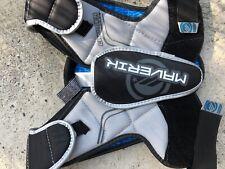 New listing Maverik Charger Shoulder Pad Lacrosse Sz Medium Black/Silver