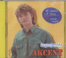= AKCENT - ZEGNAJ MALA / Zenek Martyniuk / disco polo dance / CD sealed