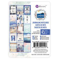 Prima Santorini 3 x 4 Journaling Cards 994198