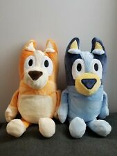 2Pcs 28Cm Bluey bandit Chili heeler Bluey Bingo The Dog Plush Toy soft DOLL US