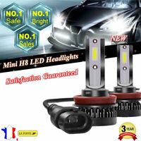 110W H8 H11 Mini LED COB Voiture Phare Lampe Feu Headlight Ampoule 6000K 20000LM