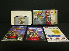 Mario Kart 64 (Nintendo 64, 1997) N64 Player's Choice Complete Boxed CIB