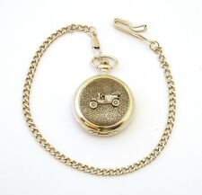 Classic Car Pocket Watch Gift Boxed FREE ENGRAVING Car Lover Gift