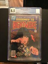 Doorway to Nightmare #1 CGC 8.5