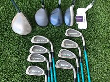 Complete Womens Golf Club Set Callaway Driver, Cobra Hybrid, Ginty Altima Irons