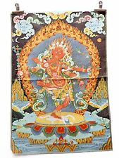 Tibet Collectable Silk Hand Painted Immortal Thangka  007