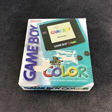 Console Nintendo Game Boy Color Turquoise Vitre verre neuve EUR Excellent état
