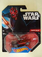 Star Wars - Hot Wheels - Voiture Darth Maul 2014 - Mattel - Neuf
