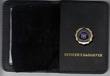 NYS Dept of Correctional Services Officer's Daughter Wallet (Mini Badge Included