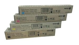4 x Original Toner Xerox WorkCentre 7425 7428 7435 / 006R01395 - 006R01398 SET